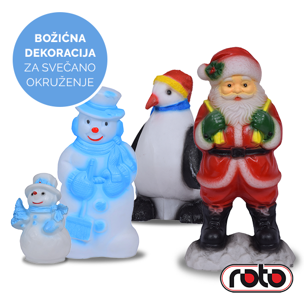 ROTO Božićna dekoracija
