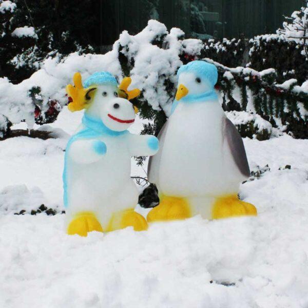 ROTO figura Jelen i Pingvin