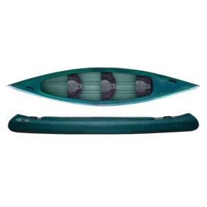 ROTO kanu Viking jednoslojni 3 PE sjedala sa naslonom zeleni